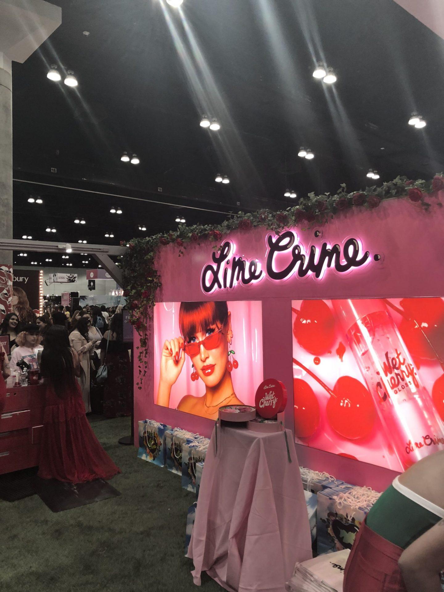 Limecrime Booth #Beautycon