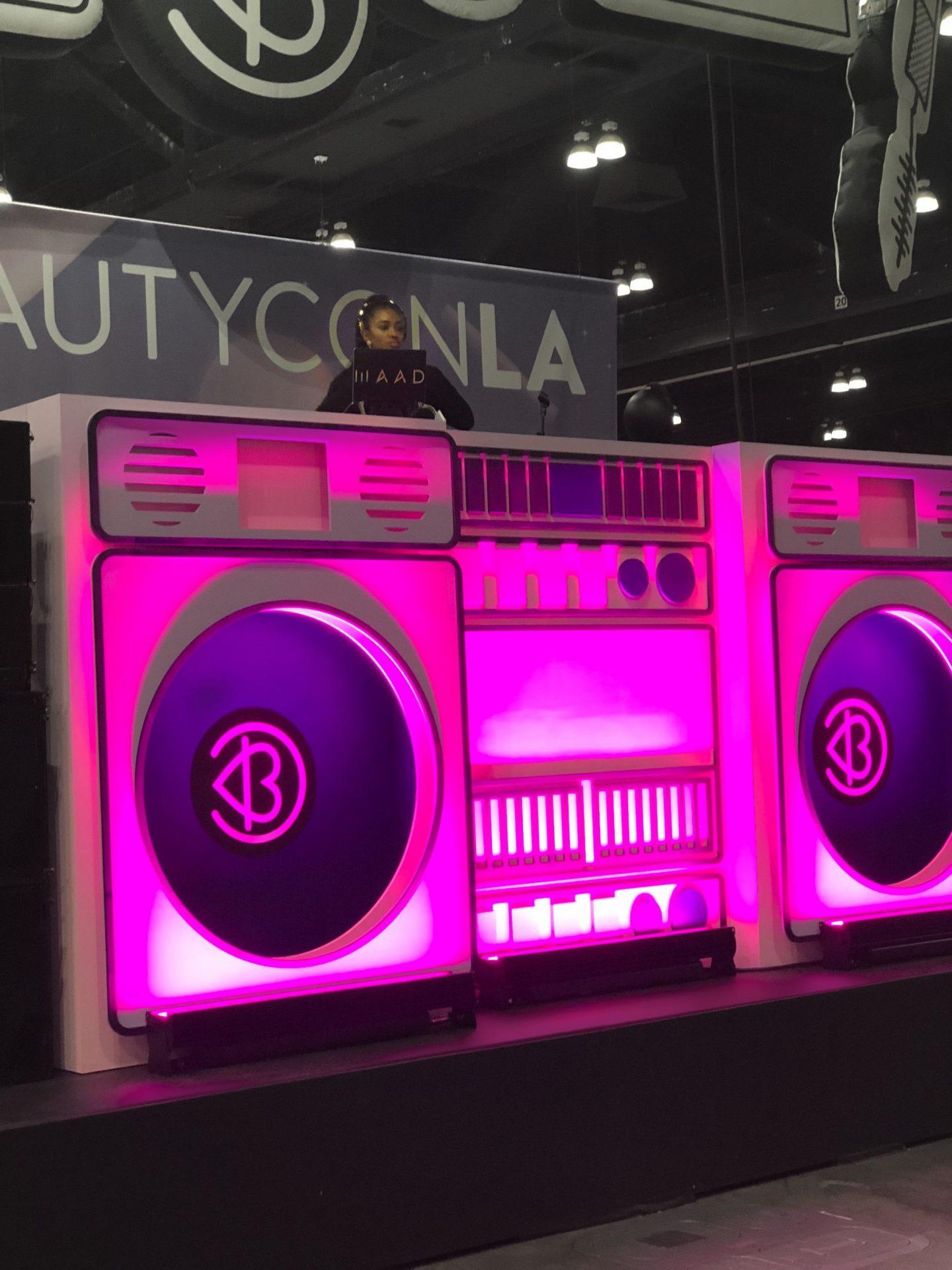 DJ Booth #Beautycon