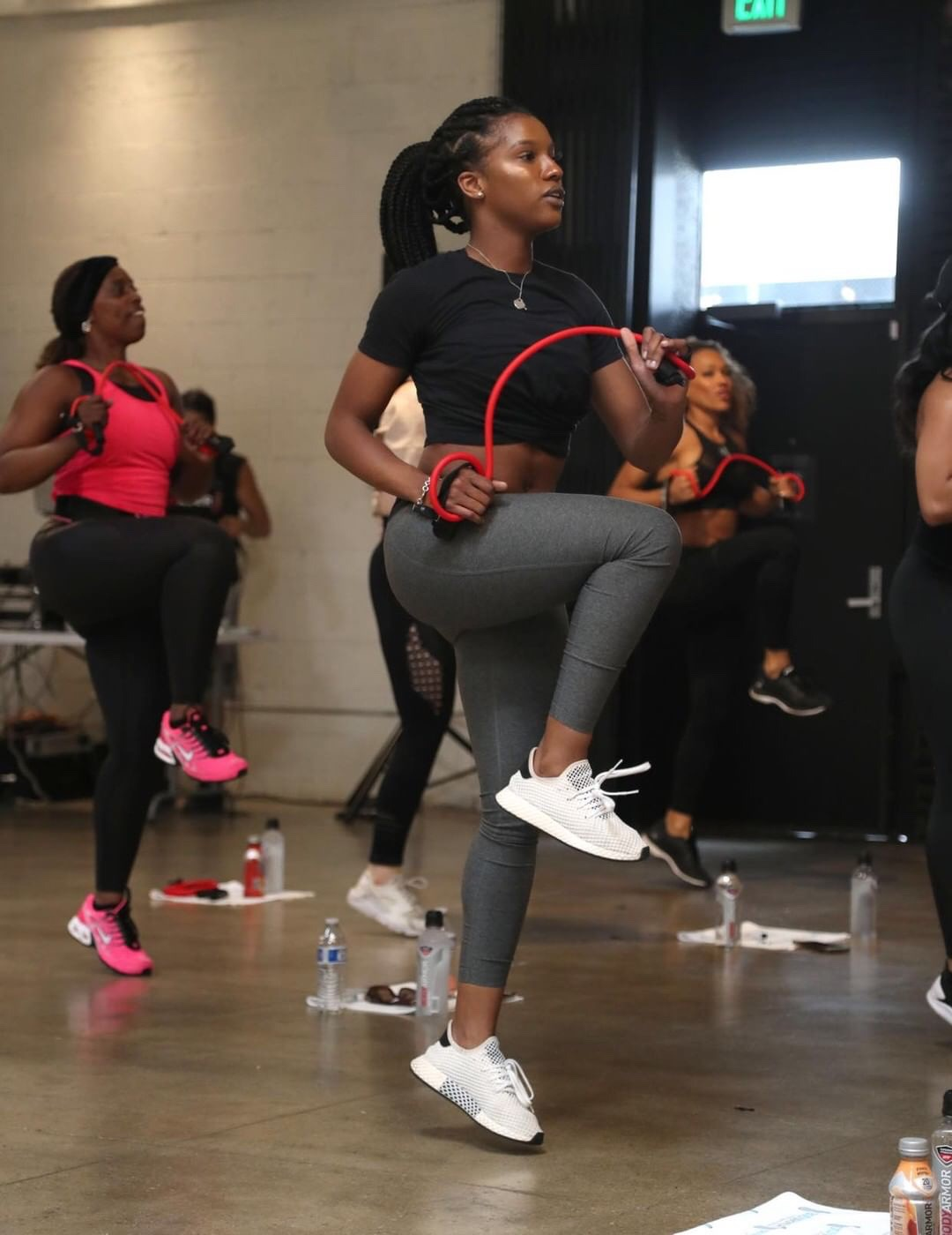 LYTE UP LA Exclusive Workout Hosted by BODYARMOR