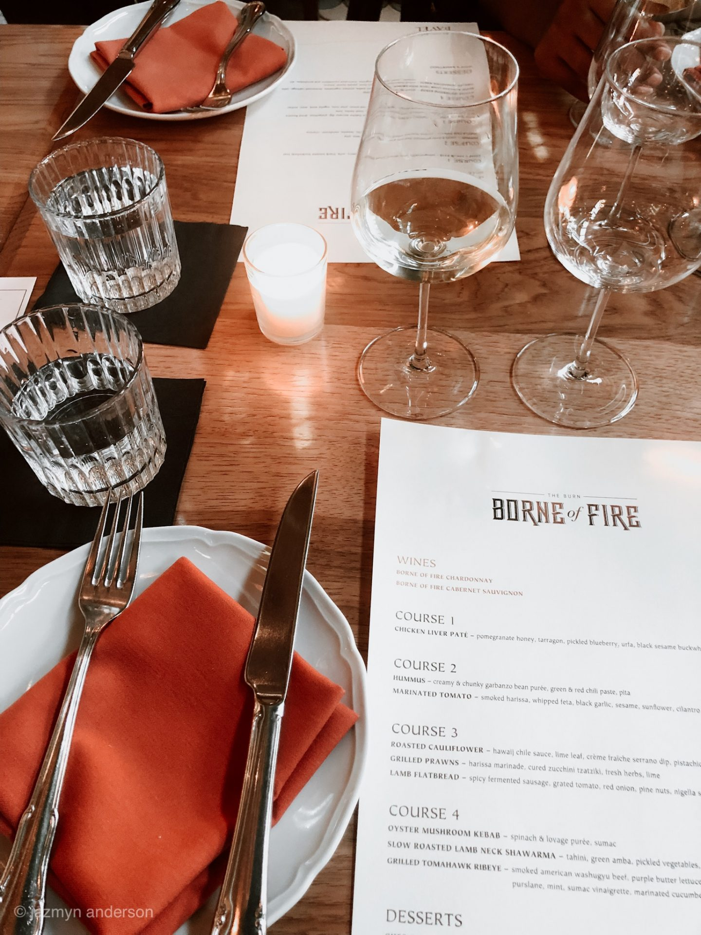 Borne of Fire Wine Experience