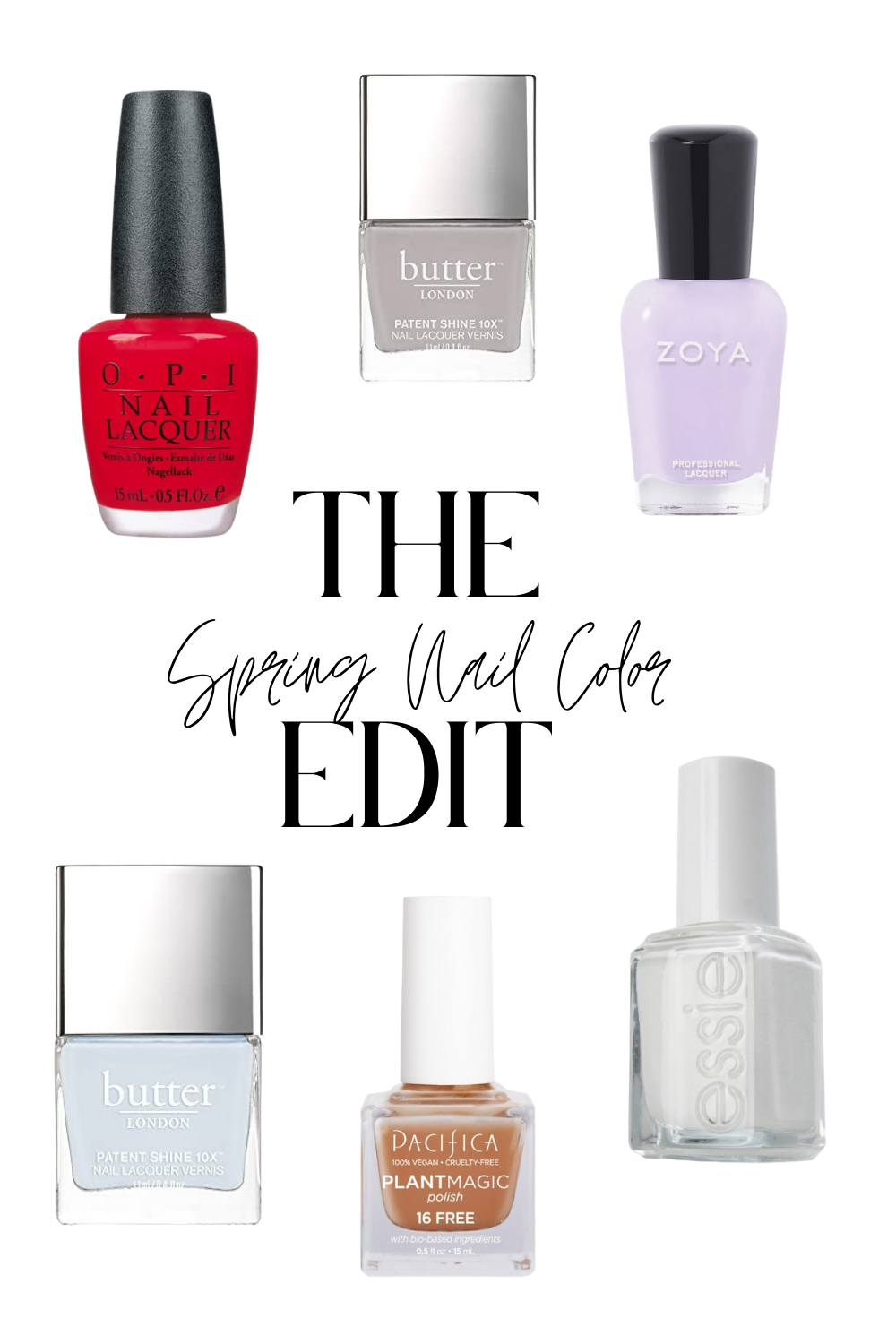 15 Best Spring Nail Colors