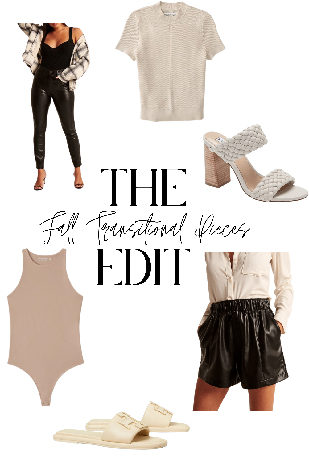 21 Pieces You Need to Build Your Fall Wardrobe